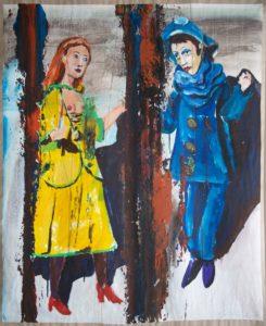 Funny van Dannen: Fehldruck - Pierrot und Colombine