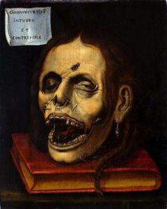 Unbekannter Künstler: Tote Frau