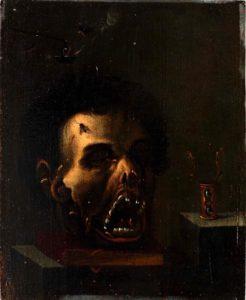Unbekannter Künstler: Totenkopf