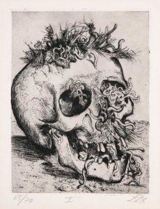 Otto Dix: Schädel
