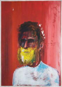 Portrait Nr. 27 (Der Mann mit gelbem Bart)
