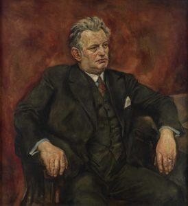 Rudolf Schlichter: Portrait Max Schlchter