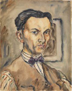 Rudolf Schlichter: Géza by Cziffra
