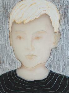 Sue Hayward: Child ( striped shirt )