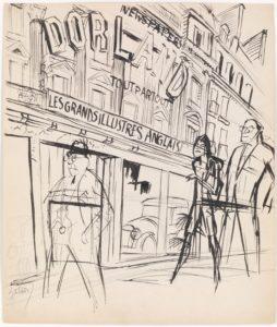 Karl Hubbuch: Ein Amerikaner in Paris
