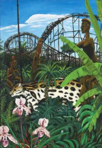 Fred E. Knecht: Achterbahn im Dschungel