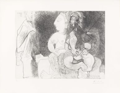 Pablo Picasso: Eau-forte
