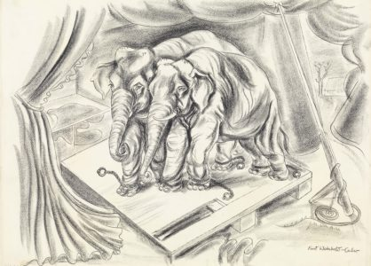 Kurt Weinhold: Circus elephants