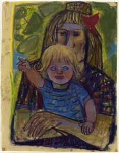 Otto Dix: Mother with child