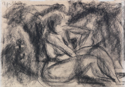 Otto Dix: siting Nude