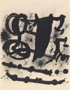 Jean Miro: Exposicion Homenaje