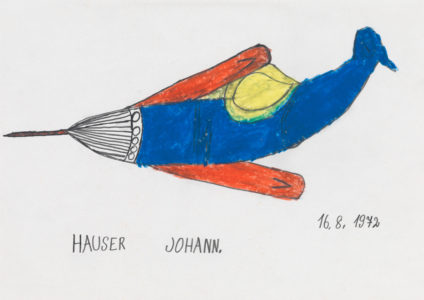 Johann Hauser: Flugzeug