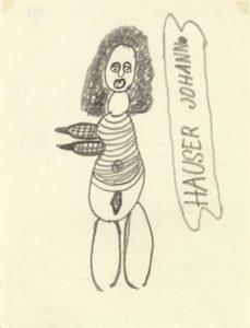 Johann Hauser: Zeichenportrait