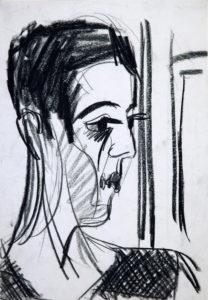 Ernst Ludwig Kirchner: Frauenbildnis