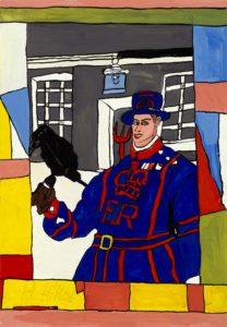 Josef Wittlich: Guardist with Ravens